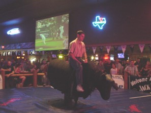 bull riding, enjoy the ride